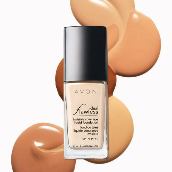 Avon Ideal Flawless Invisible Coverage Liquid Foundation http://www.makeupmarketingonline.com/avon-ideal-flawless-invisible-coverage-liquid-foundation/