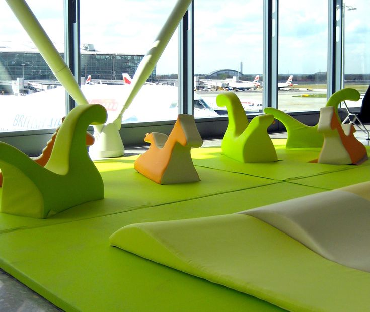 PLAY+ is taken off in Heathrow airport (UK), design by ZPZ Partners.