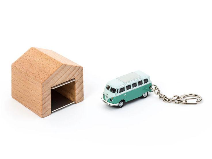 schl sselanh nger vw bus t1 samba mit garage vw bus t1. Black Bedroom Furniture Sets. Home Design Ideas