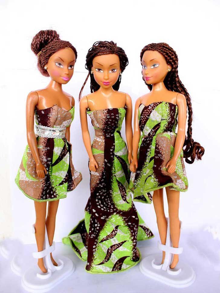 Estas muñecas africanas destronan a Barbie en las jugueterías de Nigeria