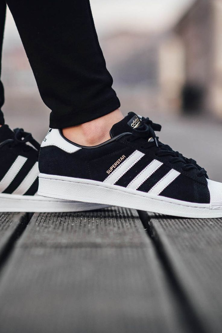 Adidas Originals Superstar Foundation Kids Black/white/bla Culture