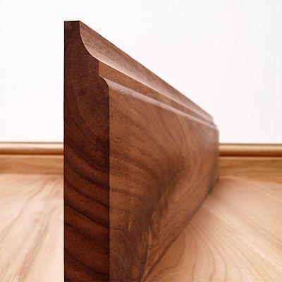 Scotia Solid Black Walnut Skirting Board - Skirting Boards - Skirtings Architraves