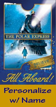 Polar Express Tickets And Ticket On Pinterest