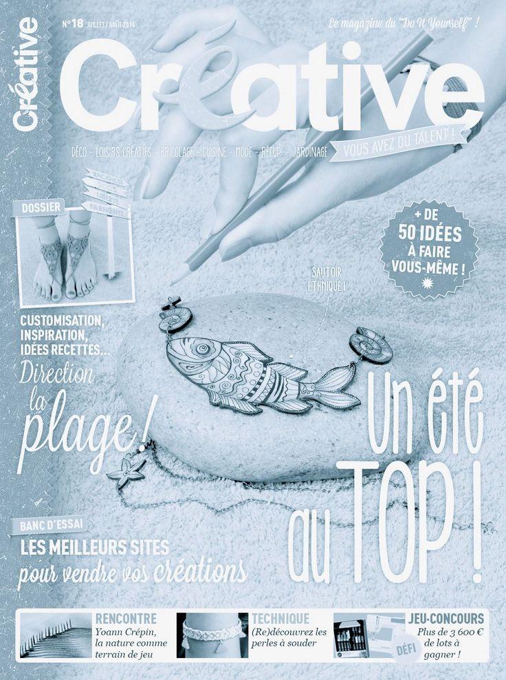 L - GO   IN  CREATIVE  MAGAZINE  FRANCE