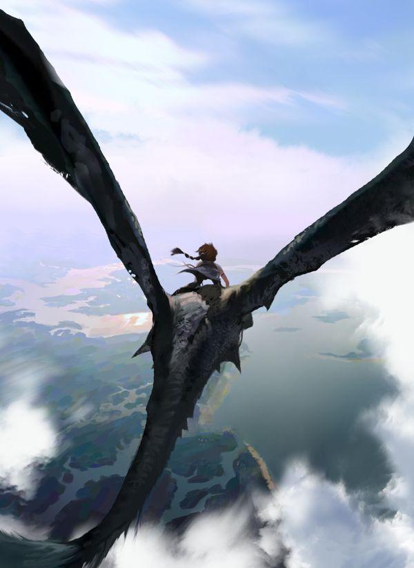 Dragon Rider on Behance  http://www.pinterest.com/mhendriks404/