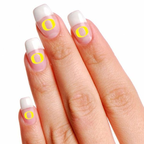 Oregon Ducks 4-Pack Temporary Nail Tattoos - $2.99