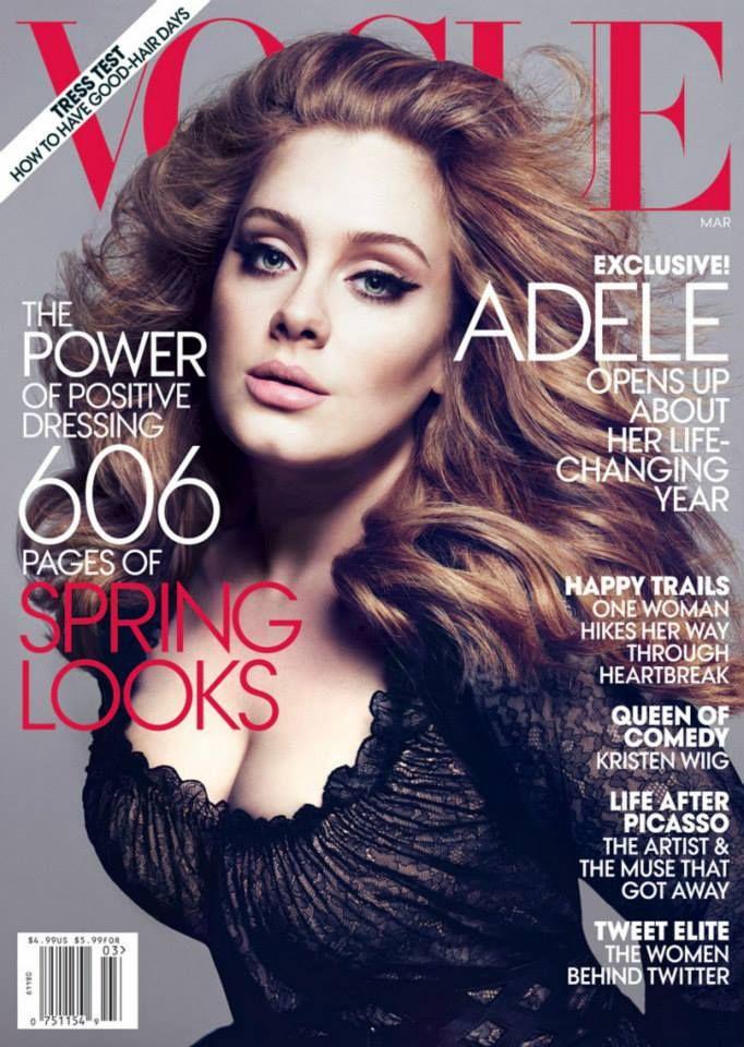 Marie Claire in copertina la modella pelle e ossa con