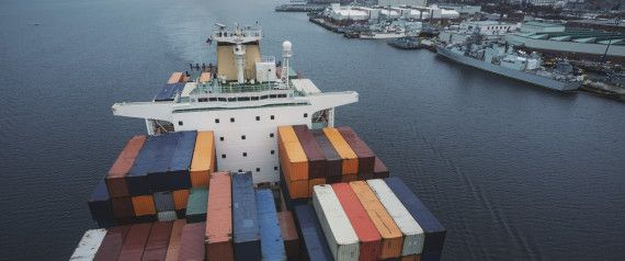 Passage by Container Ship