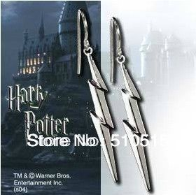 Harry Potter Lord Voldemort Unforgivable Curses Lightning Scar Tattooing Wizard Earring