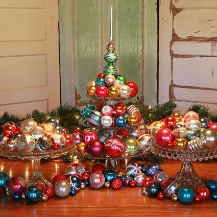 Best 25+ Vintage christmas balls ideas on Pinterest ...