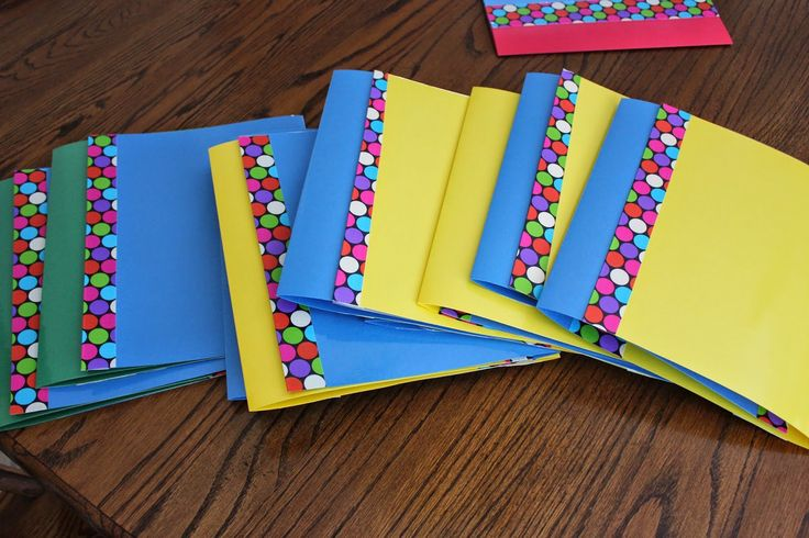 Cute, Cheap Privacy Folders.  Visit the post for more.