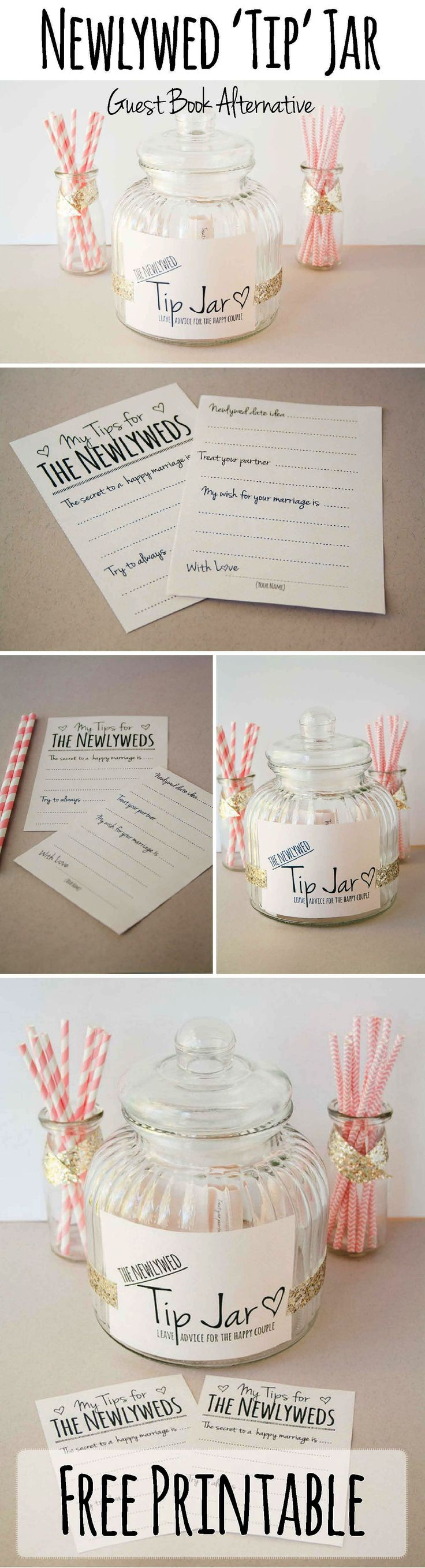 Newly Wed Tip Jar Heres How To Make This Cute