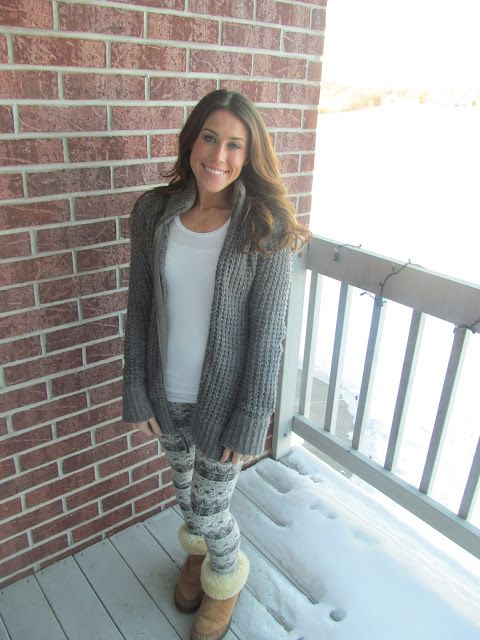 Absolutely Airs: HOW TO: Winter Leggings
