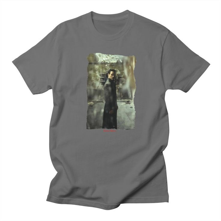 The Matrix Vortex - Keanu Reeves Men's T-shirt by VanyssaGraphics's Artist Shop