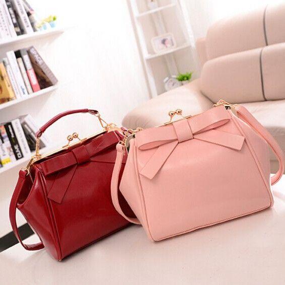 2014 Hot New Fashion mulheres bolsa marca de moda saco arco ombro sacos do mensageiro do vintage mulheres L7 34 em Bolsas de Ombro de Mochilas & bagagem no AliExpress.com   Alibaba Group