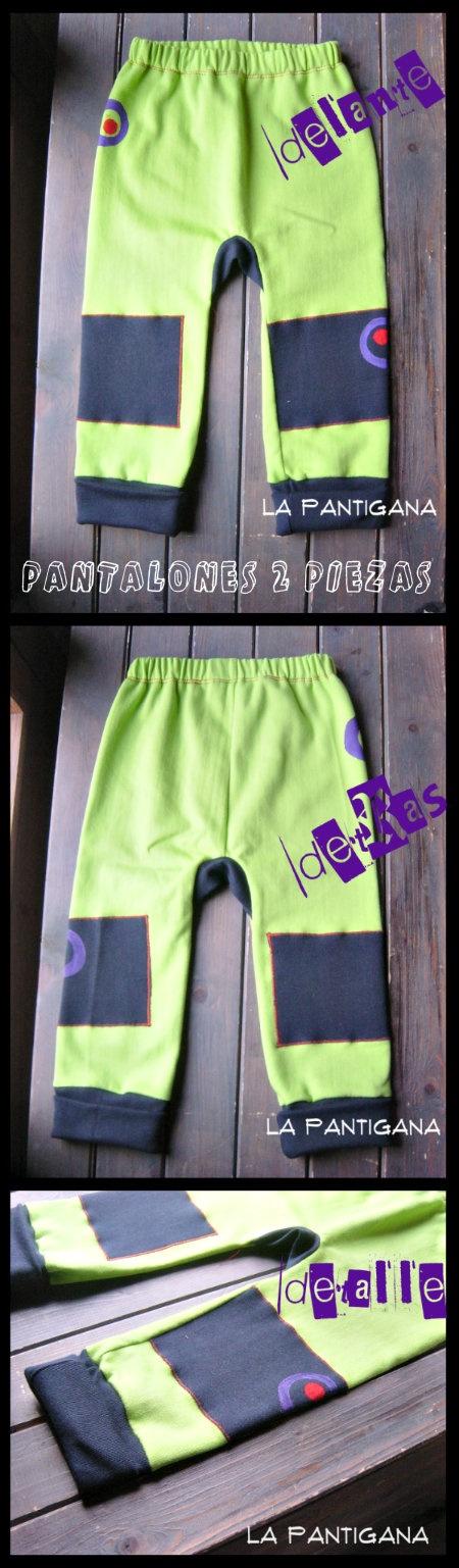 PANTALONES 2 PIEZAS (Ottobre) by La Pantigana