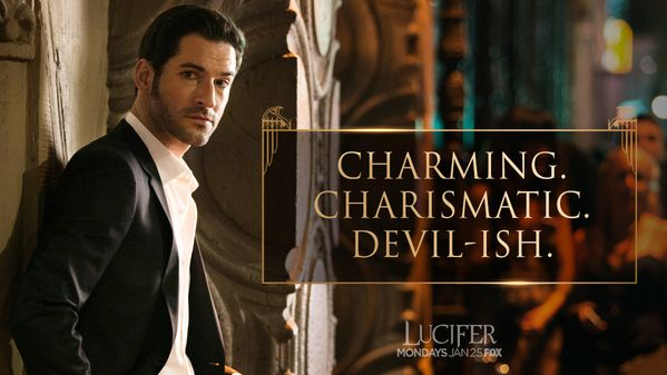 Lucifer - TV Series News, Show Information - FOX Caution: #Lucifer Morningstar is too hot to handle.