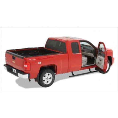Bestop 7512615 Black Powdercoat Running Boards Toy Trucks