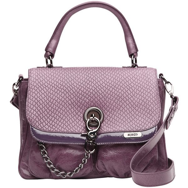 Mimco Victorian Satchel found on Polyvore