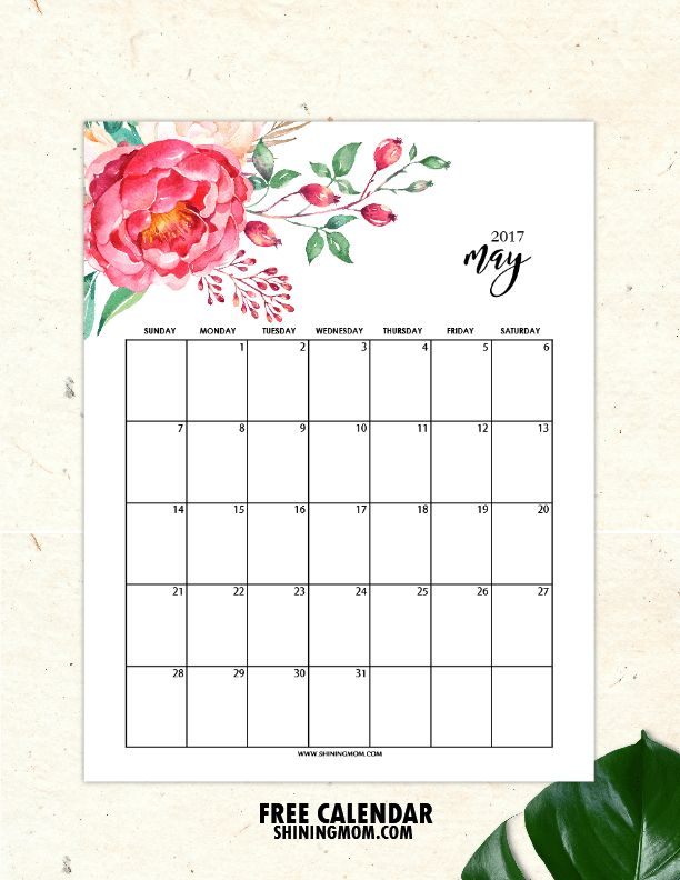 It's time to plan your May! I am happy to share your set of free printable May 2017 calendar today! Come browse though, designs for this month are fun, chic, fresh and pretty! You'll on…