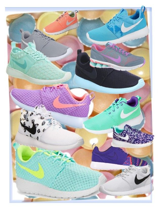 """Choose your nikes!"" by vonevenseth on Polyvore"