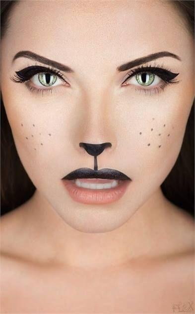 Halloween How-To: Black Cat Makeup - News - Modern Salon