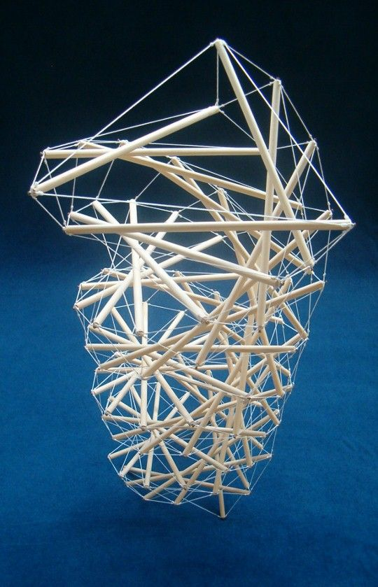 The Needle Tower #tensegrity