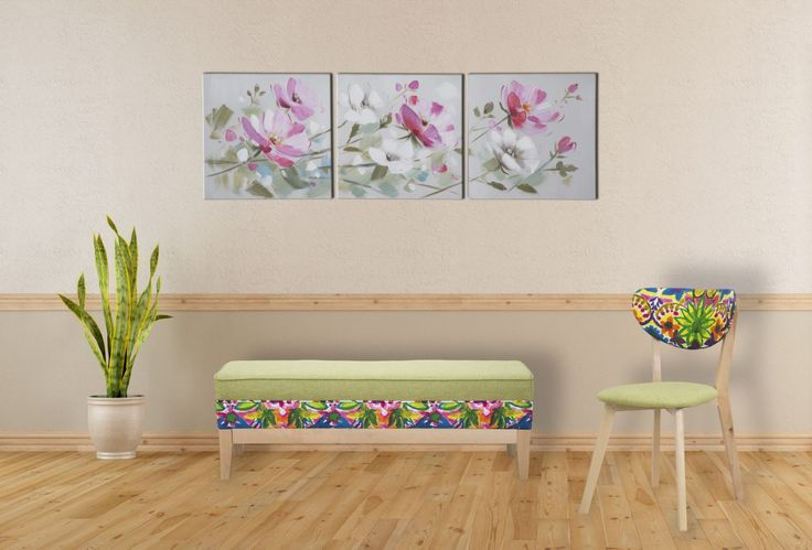 #MauroFerrettiSrl 1417990000 PANCA HIPPIE CM 120X40X40 #mauroferrettisrl #home #homedecor #decor #casa #arredo #arredamento #panca #hippie #color #spring #natural #wood #color #flower #newitem #newlook #italiansdoitbetter