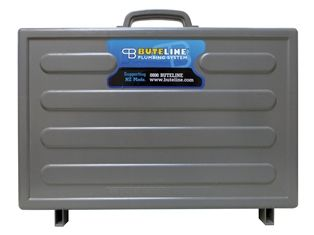 Bute Fittings Case: A tough and durable case designed for carrying plumbing fittings for those in the trade. Available from http://www.buteline.com/nz/orders/empty-bute-fittings-case-butec/