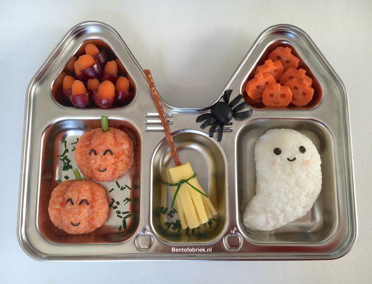 Halloween bento platter