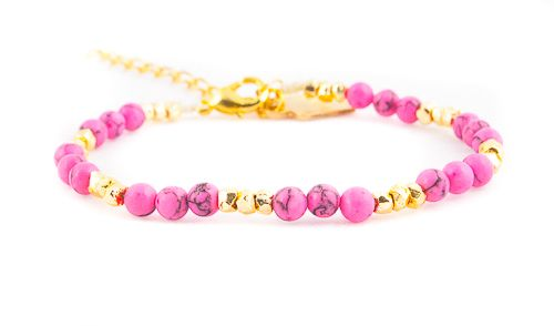 Inca bracelet pink