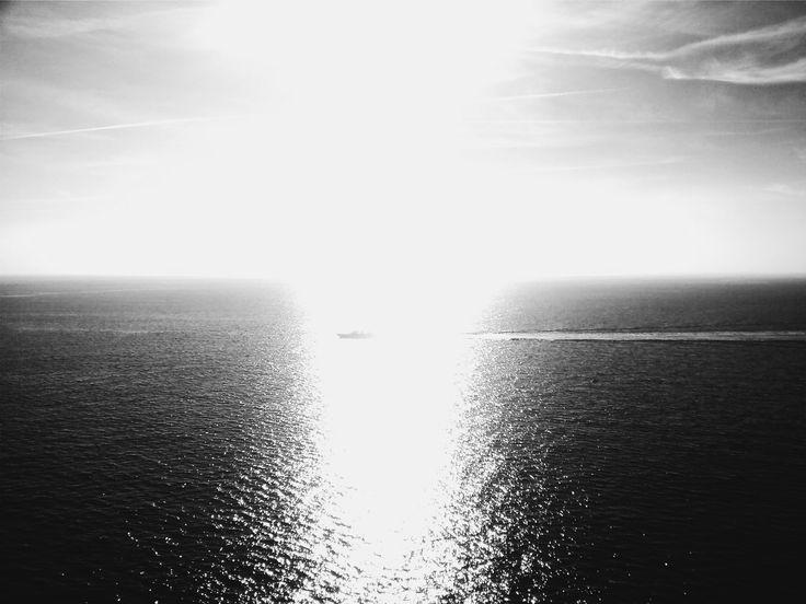 La calma del mar mediterráneo