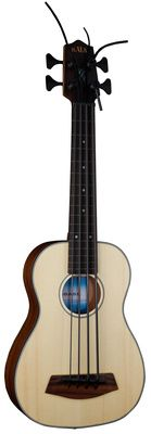Kala UBASS SSMHG FL Bass Ukulele FL, lefthandversion solid spruce top, mahogany body, mahogany neck