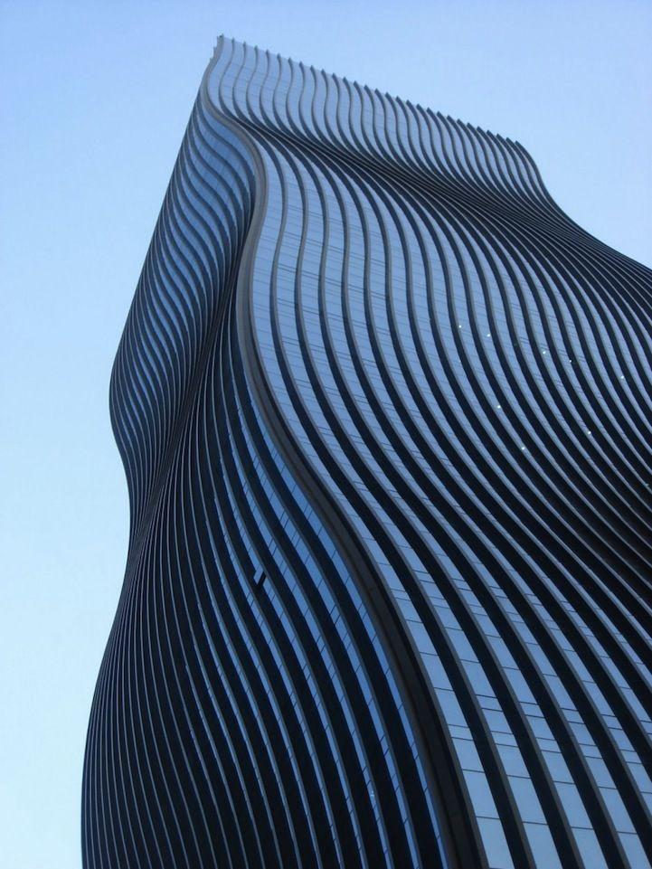Wavy architecture