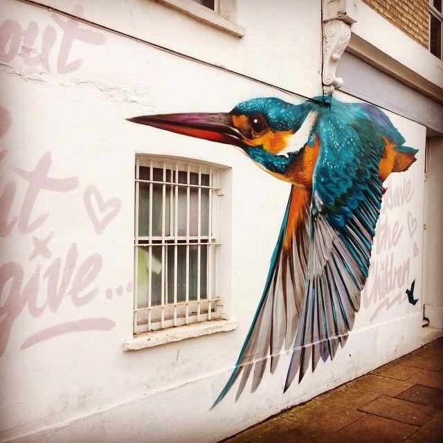 More #mural #art in #London #peckham #Dulwich! Get the #Kooky #London #App http://bit.ly/11XgicP #ig_London #igLondon #London_only #UK #England #English #GreatBritain #British #iPhone #quirky #odd #weird #photoftheday #photography #picoftheday #igerslondon #londonpop #lovelondon #timeoutlondon #instalondon #londonslovinit #mylondon #Padgram