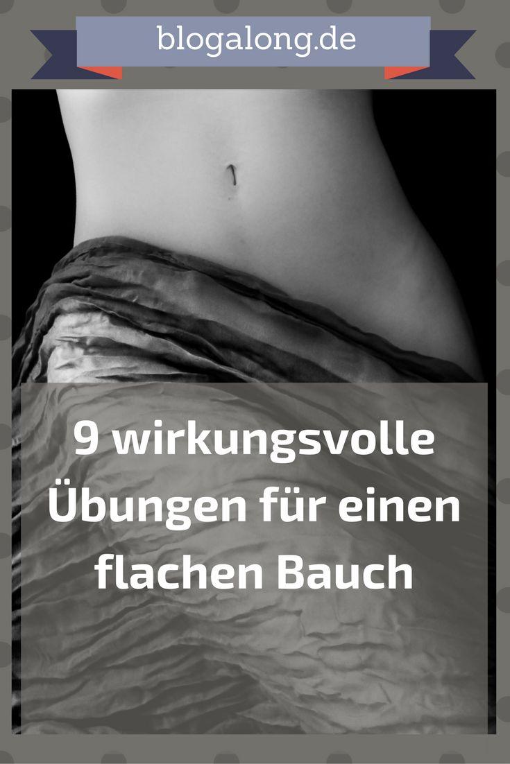 9 wirkungsvolle Übungen für einen flachen Bauch #fitness #bauch #training