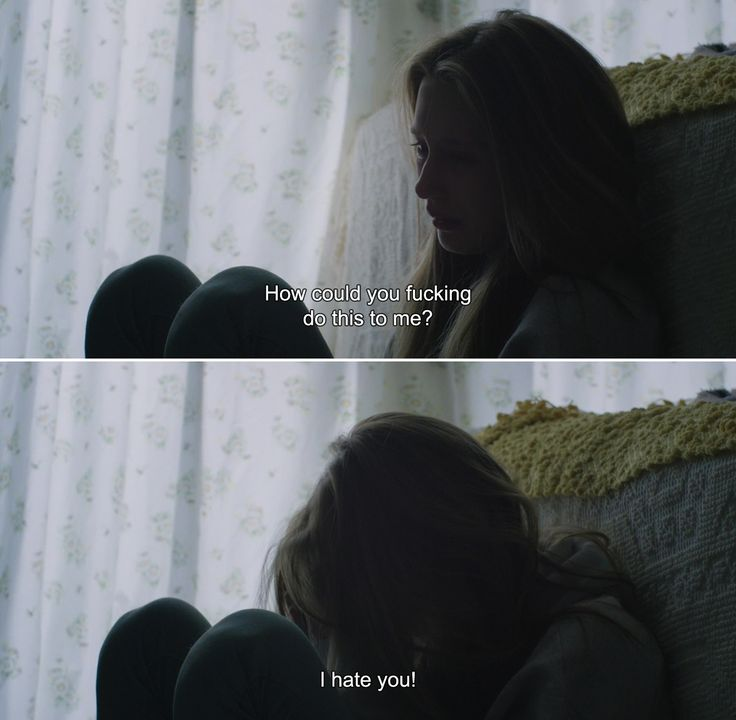 ― 6 Years (2015) Melanie: How could you fucking do this to me? I hate you!