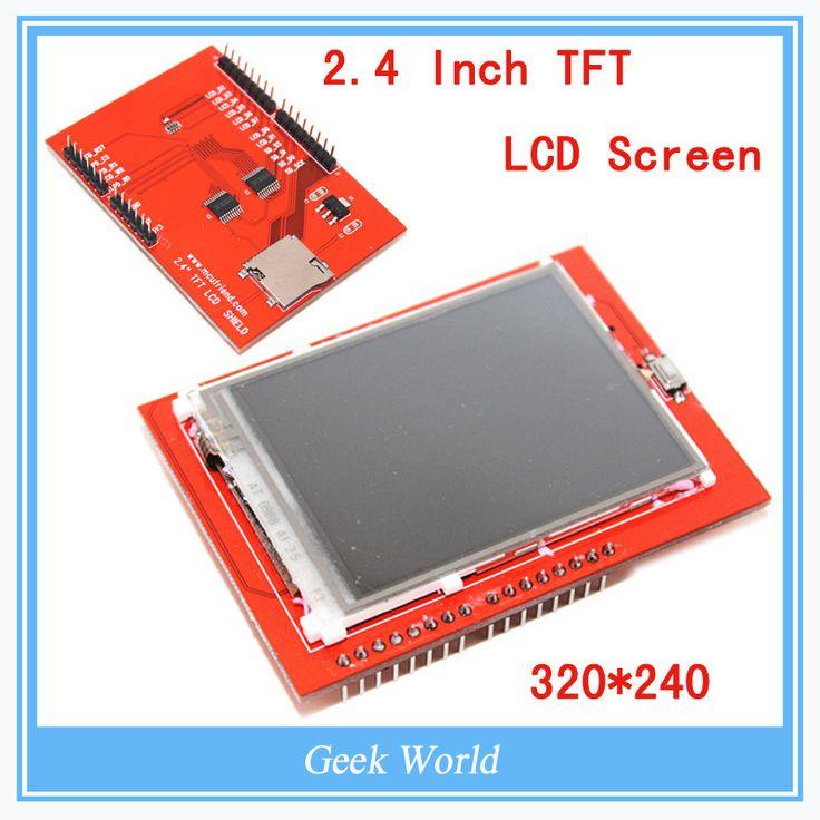 ЖК-модуль TFT 2.4 дюймов TFT ЖК-экран для Arduino UNO R3 Совета и поддержки мега 2560
