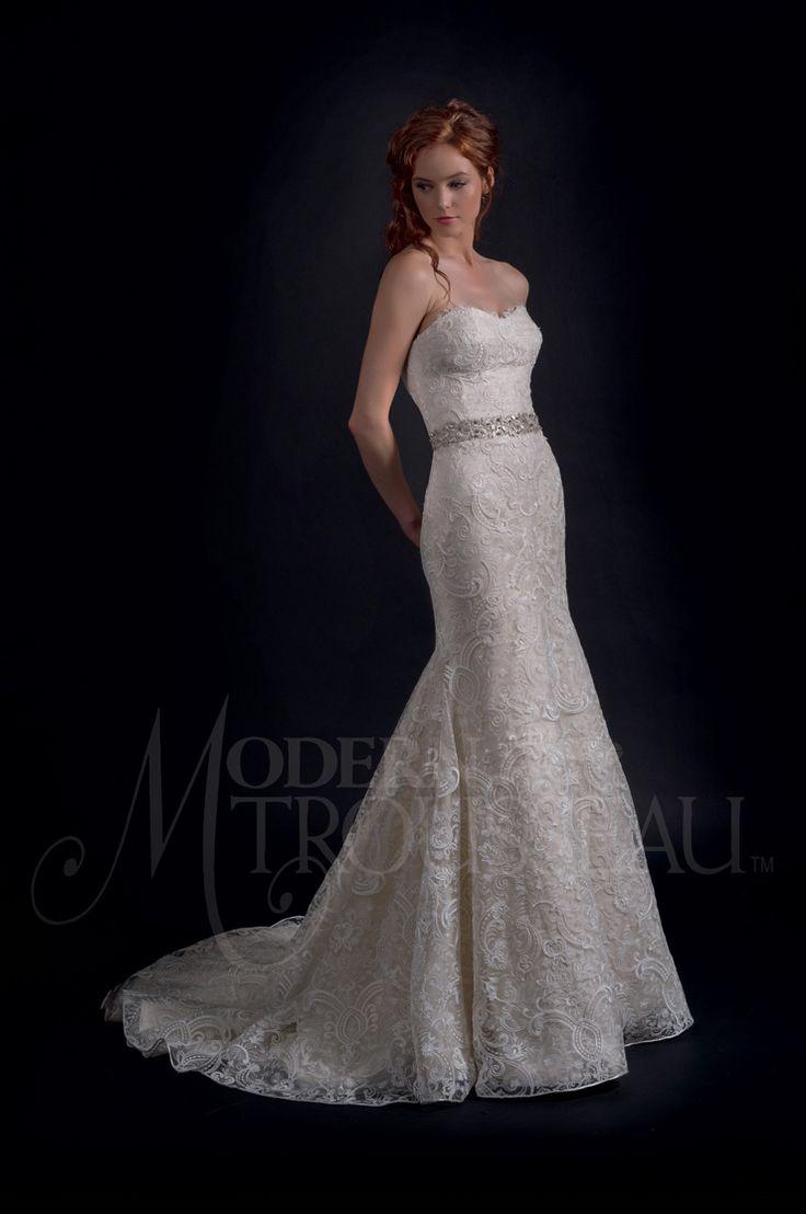 Modern Trousseau Fall 2016 Wedding Dresses | itakeyou.co.uk #weddinggown #weddingdress: