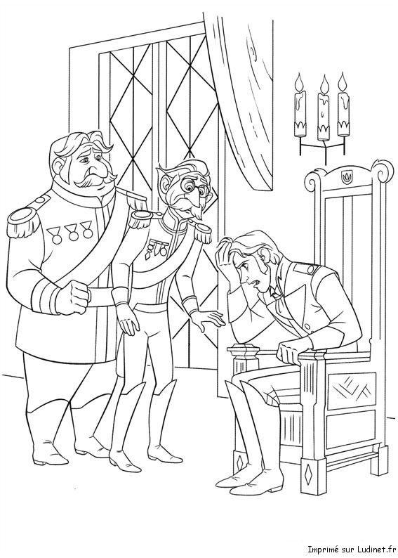 Frozen Coloring Pages For Kids 24