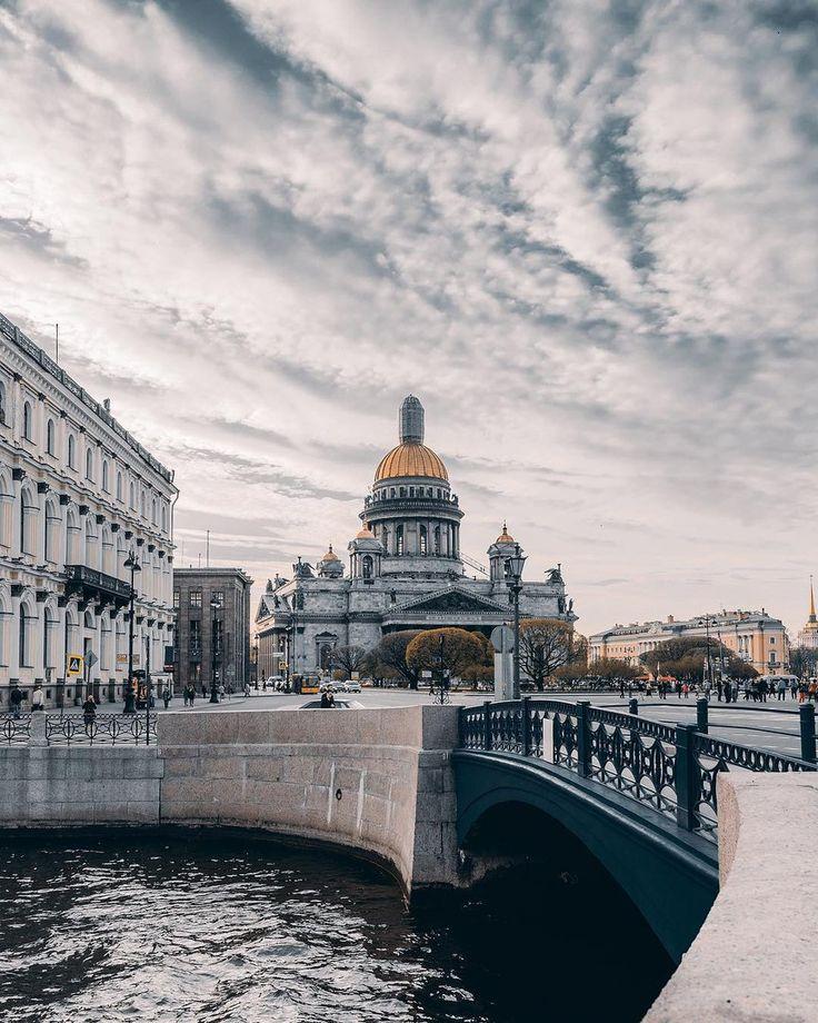 Исаакиевский собор.  Автор фото: Андрей Михайлов (Andrei_mikhailov).