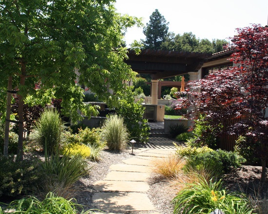 Best 45 landscape with rock gravel images on pinterest for Low maintenance gravel garden