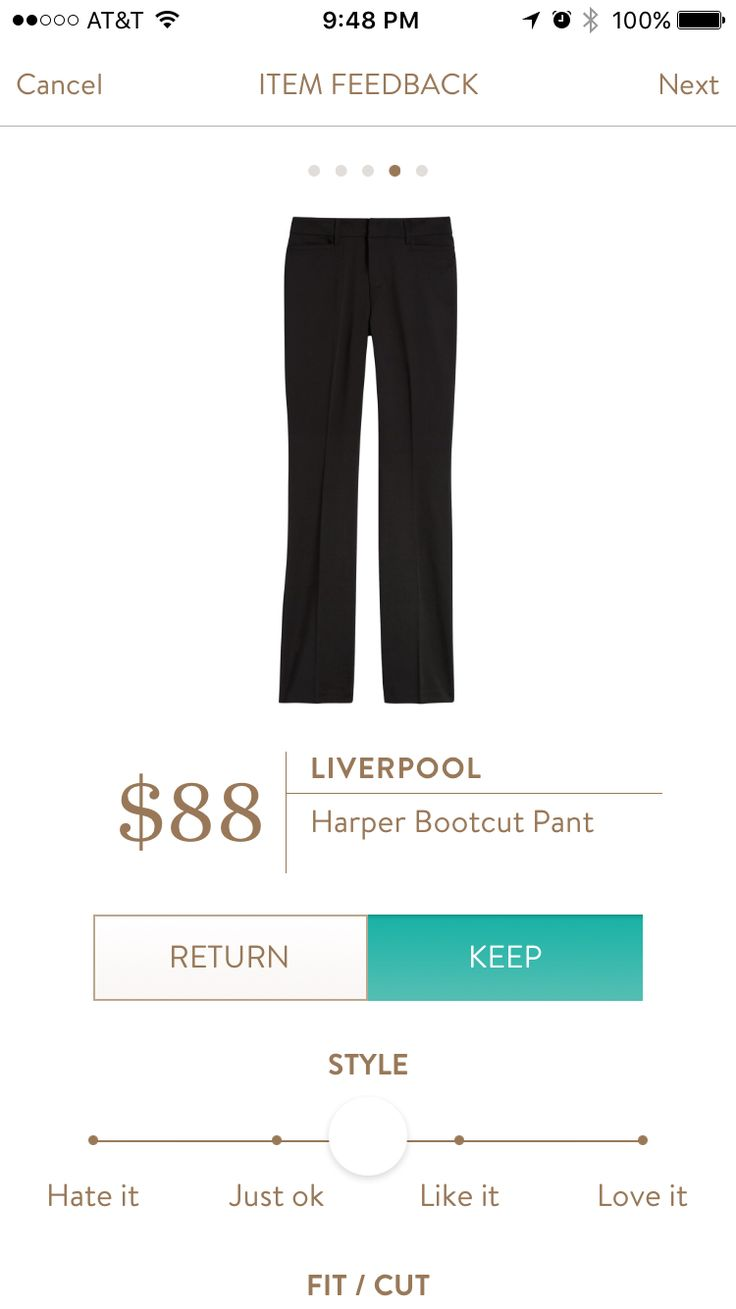 Dear Stylist: Looks nice, if they come in petite. I've heard great things about the Liverpool pants.