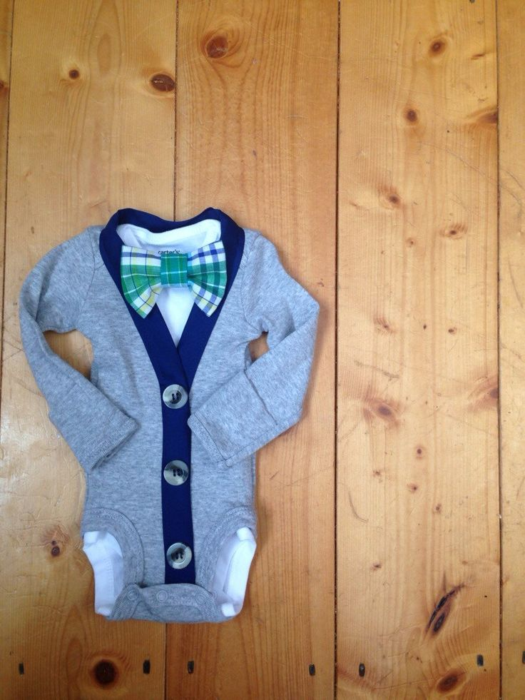 Baby Boys Cardigan Bodysuit and Bowtie, baby Boy Easter Outfit, Easter Pictures, baby boy cardigan, Spring Outfit, Baby Boy, Toddler Boy by EllerbysChicBoutique on Etsy https://www.etsy.com/listing/224422791/baby-boys-cardigan-bodysuit-and-bowtie