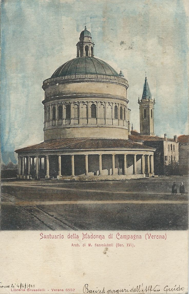 Verona - Santuario della Madonna di Campagna 1901