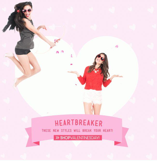 ModDeals.com | Valentines Day 14' #moddeals #newsletter #emailblast #marketing #design #web #graphics #graphicdesign