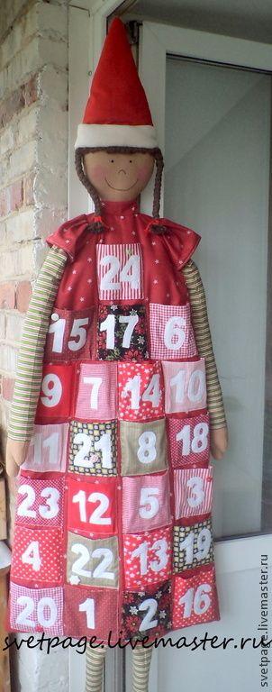 Купить Адвент-календарь - advent, адвент-календарь, рождество, рождественский подарок, Новый Год