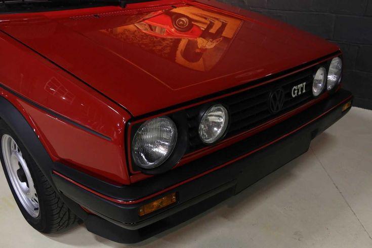 Volkswagen GOLF GTI 1.6 8v aus 1988, völlig restauriert