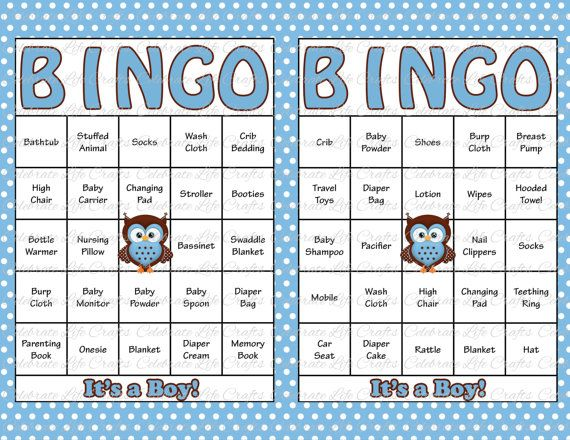 It is an image of Sizzling Free Printable Baby Shower Bingo Cards for 30 People