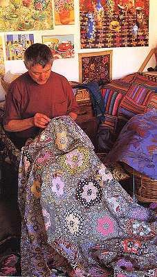 Kaffe Fassett... master of complicated colourwork.